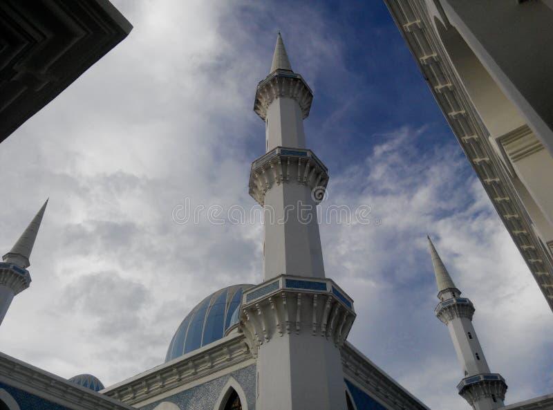 Σουλτάνος Ahmad 1 μουσουλμανικό τέμενος σε Kuantan στοκ φωτογραφίες