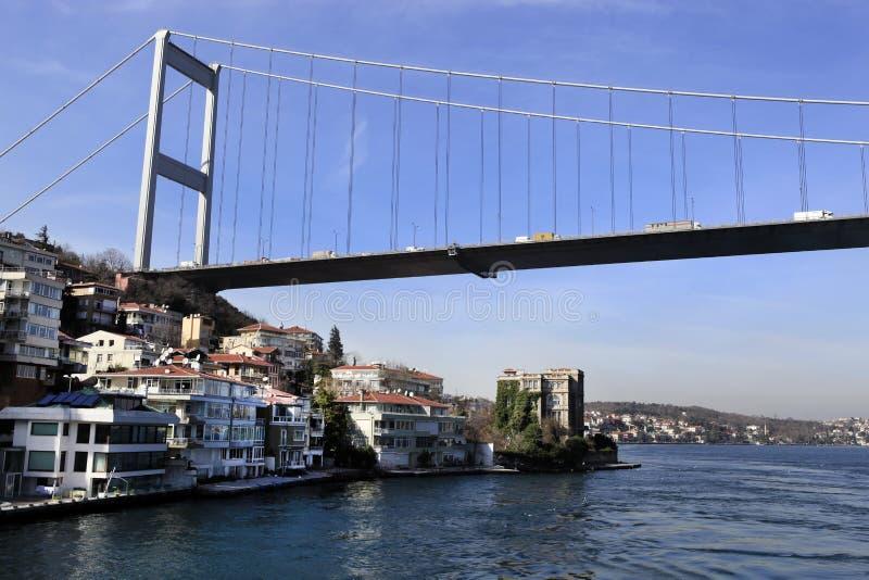 Σουλτάνος Mehmet Bridge Fatih στοκ εικόνα