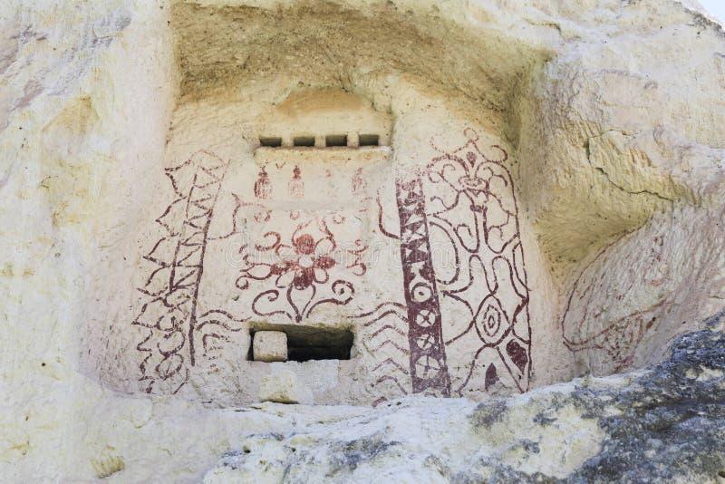 Σοφίτα περιστεριών στην κοιλάδα Peagons, Cappadocia στοκ εικόνες