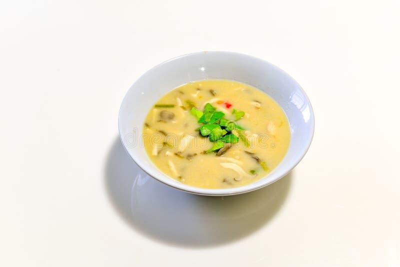 σούπα γάλακτος καρύδων κ&o στοκ εικόνες με δικαίωμα ελεύθερης χρήσης