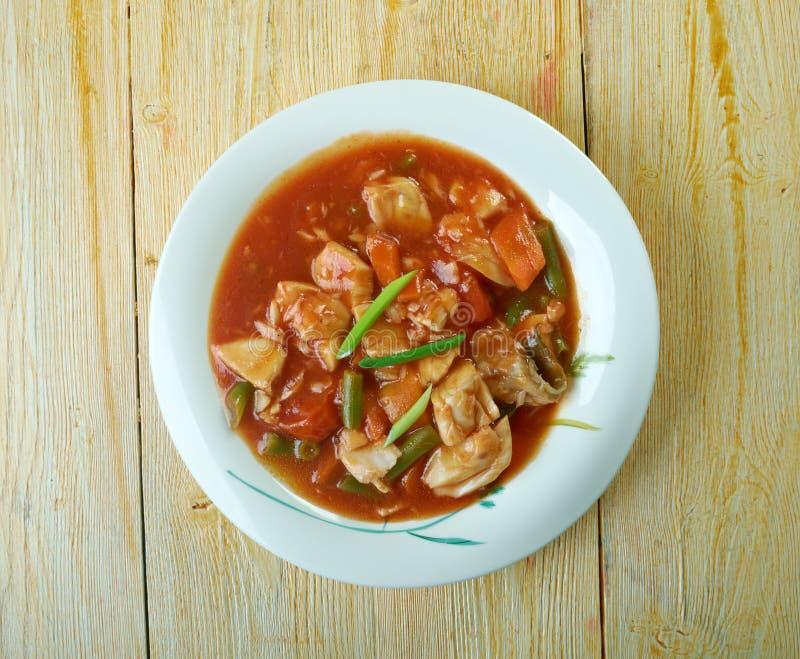 Σούπα καβουριών της Μέρυλαντ στοκ εικόνες