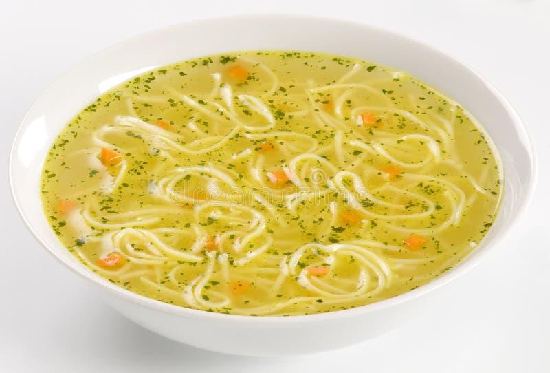 σούπα κοτόπουλου στοκ εικόνα