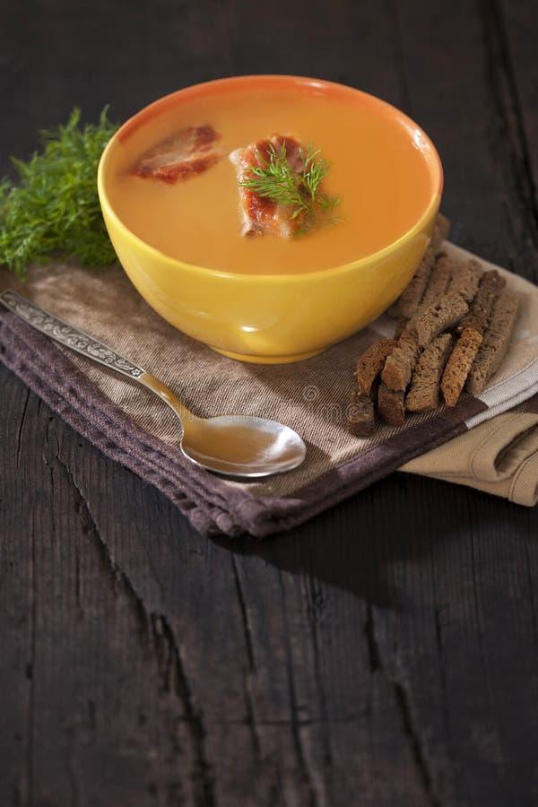 Download σούπα μπιζελιών στοκ εικόνες. εικόνα από ορέξεων, χρώμα - 17058794
