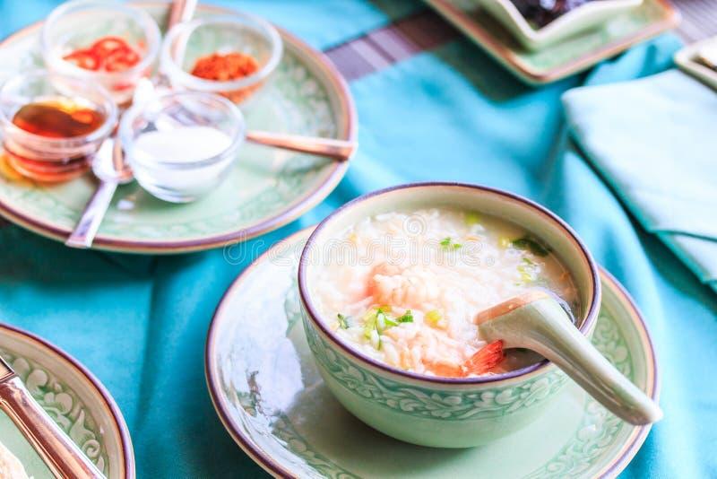 Σούπα ρυζιού στοκ φωτογραφίες με δικαίωμα ελεύθερης χρήσης