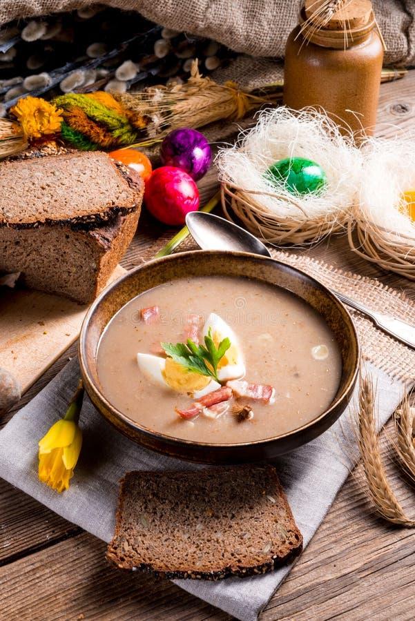 σούπα σίκαλης στιλβωτικ στοκ εικόνες με δικαίωμα ελεύθερης χρήσης