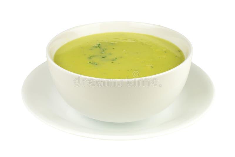 Σούπα σπαραγγιού στοκ φωτογραφίες με δικαίωμα ελεύθερης χρήσης