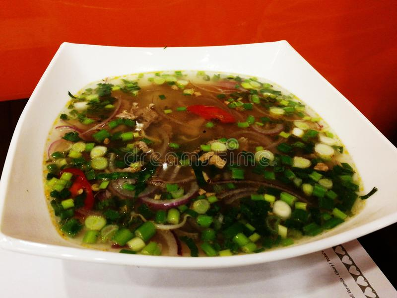 Σούπα του BO Pho στοκ φωτογραφίες