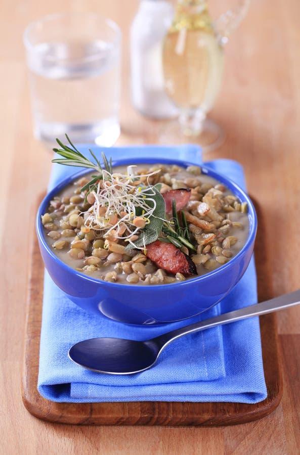 Download σούπα φακών στοκ εικόνα. εικόνα από lunch, stew, κανένας - 22788907