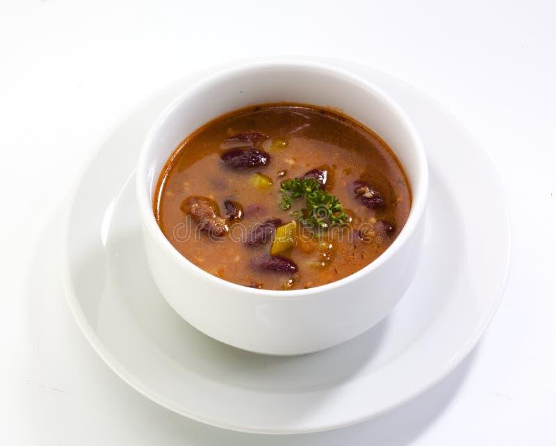 σούπα φασολιών στοκ εικόνα