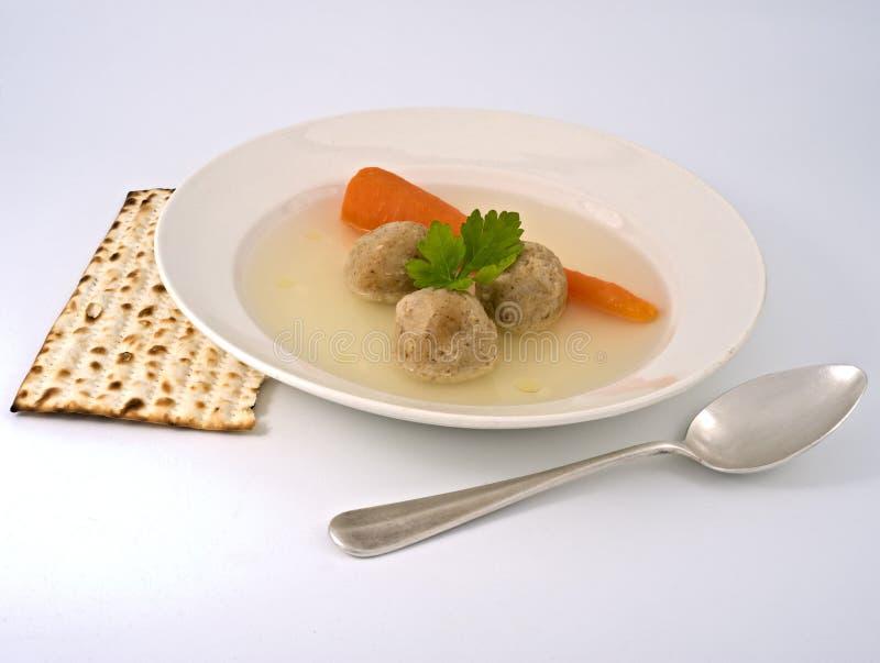 σούπα matzo σφαιρών στοκ φωτογραφία με δικαίωμα ελεύθερης χρήσης