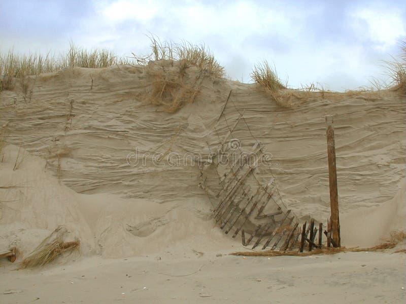 σπάζοντας αμμόλοφος