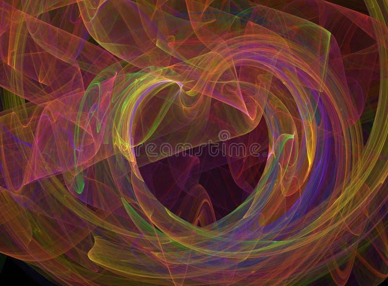 σπάζοντας τη γραφική καρδ&i διανυσματική απεικόνιση