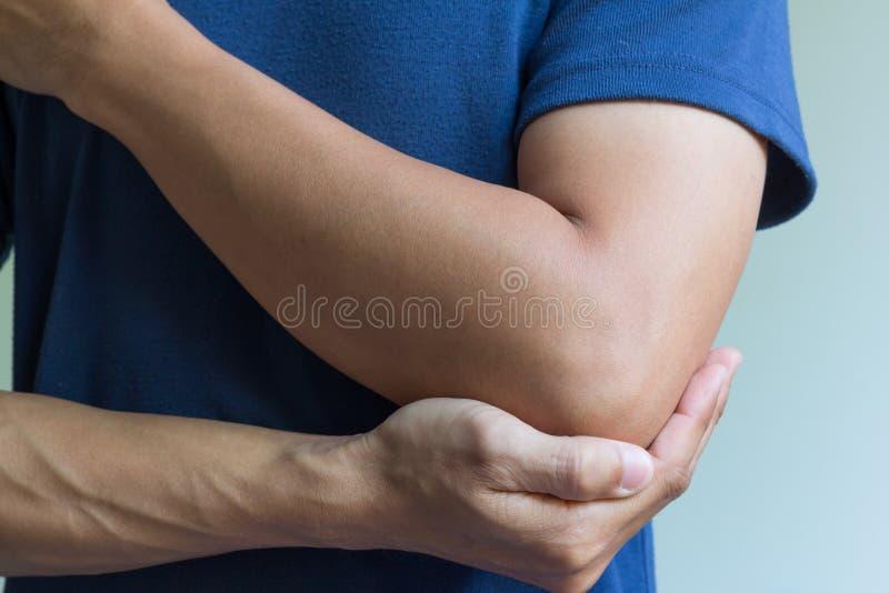 Σπάσιμο κόκκαλων αγκώνων στοκ εικόνες με δικαίωμα ελεύθερης χρήσης