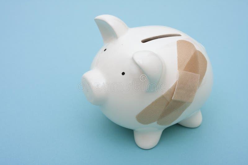 σπάσιμο τραπεζών στοκ εικόνες