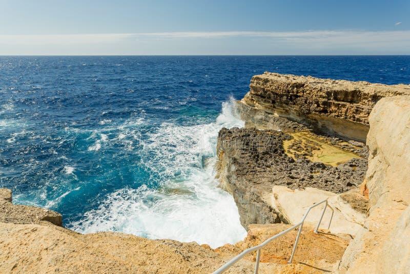 Σπήλαιο Billingshurst, Gozo, Μάλτα στοκ εικόνες
