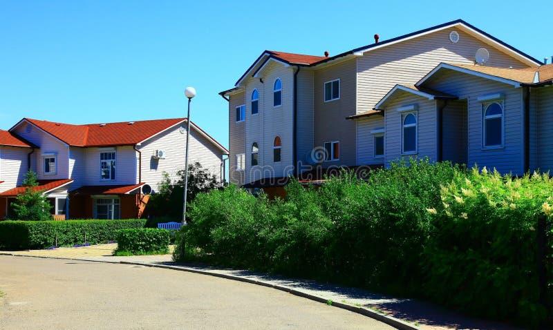 σπίτια δύο στοκ φωτογραφία με δικαίωμα ελεύθερης χρήσης