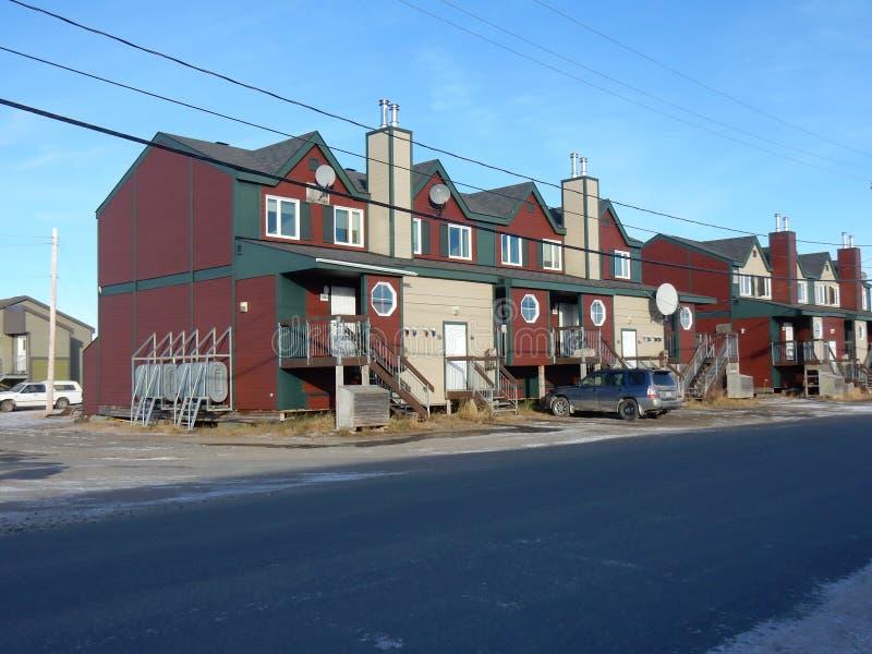Σπίτια εξοχικών σπιτιών που παρέχονται στους εργαζομένους στοκ φωτογραφίες με δικαίωμα ελεύθερης χρήσης