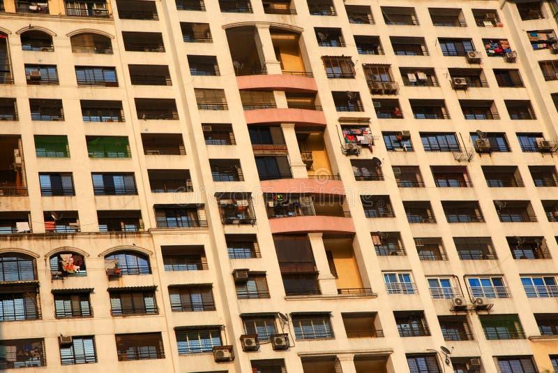 Σπίτια διαμερισμάτων στοκ φωτογραφία