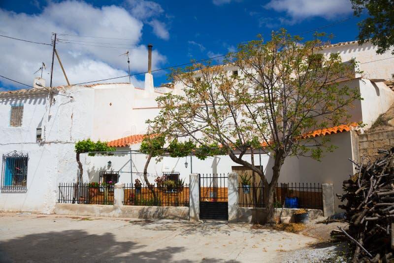 Σπίτια κατοικιών στο χωριό Pulpite Provincia της Γρανάδας στοκ φωτογραφία με δικαίωμα ελεύθερης χρήσης
