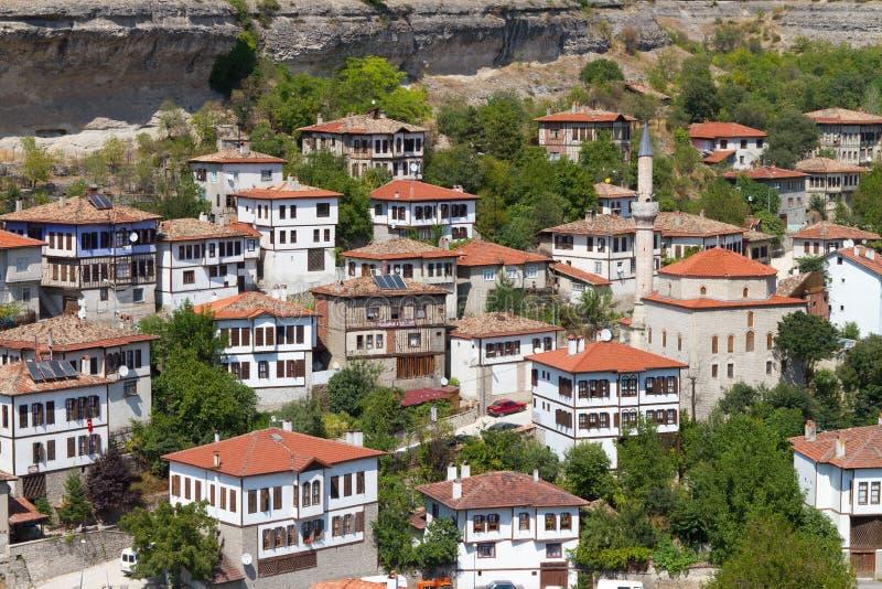 σπίτια Οθωμανός παραδοσ&iota στοκ εικόνες
