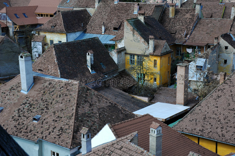 σπίτια παλαιά στοκ φωτογραφία με δικαίωμα ελεύθερης χρήσης