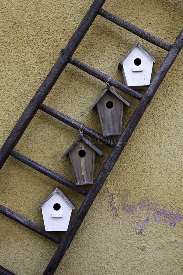 σπίτια πουλιών στοκ φωτογραφία με δικαίωμα ελεύθερης χρήσης