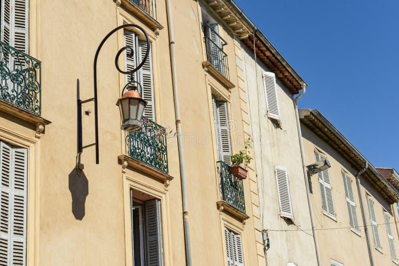 Σπίτια στη Γαλλία στοκ φωτογραφία με δικαίωμα ελεύθερης χρήσης
