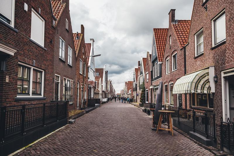 Σπίτια στο Άμστερνταμ στοκ φωτογραφία