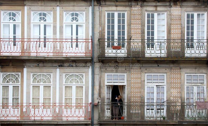 Σπίτια στο Πόρτο Πορτογαλία στοκ φωτογραφία με δικαίωμα ελεύθερης χρήσης