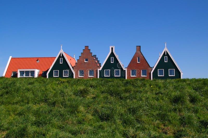 σπίτια της Ολλανδίας στοκ εικόνα με δικαίωμα ελεύθερης χρήσης