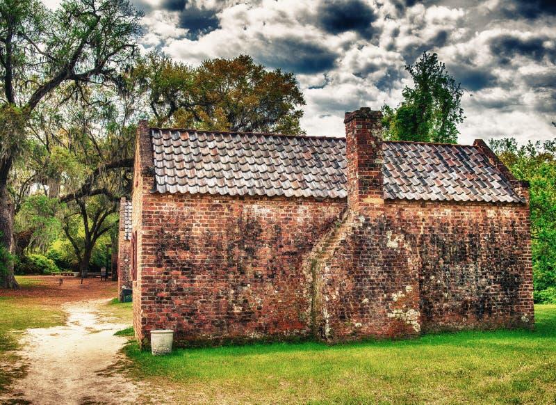 Σπίτια φυτειών αιθουσών Boone, Τσάρλεστον στοκ φωτογραφίες