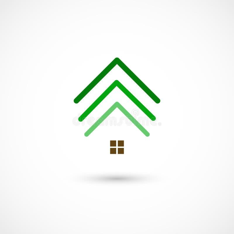 Σπίτι δέντρων ελεύθερη απεικόνιση δικαιώματος