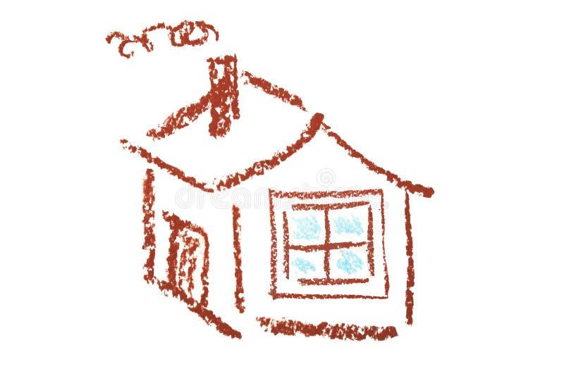 Download σπίτι απλό απεικόνιση αποθεμάτων. εικονογραφία από συρμένος - 22777760