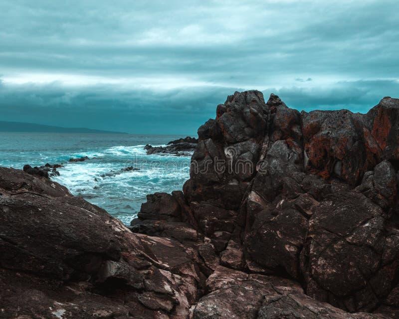 Σπίτι απότομων βράχων στοκ φωτογραφίες με δικαίωμα ελεύθερης χρήσης