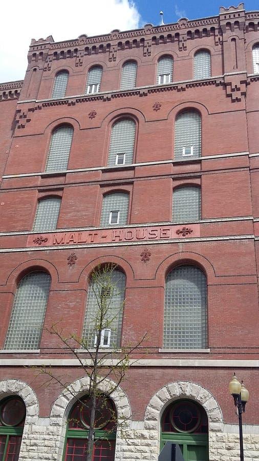 Σπίτι βύνης της Budweiser, Σαιντ Λούις στοκ φωτογραφία με δικαίωμα ελεύθερης χρήσης