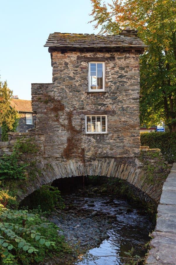 Σπίτι γεφυρών Ambleside στοκ εικόνες με δικαίωμα ελεύθερης χρήσης