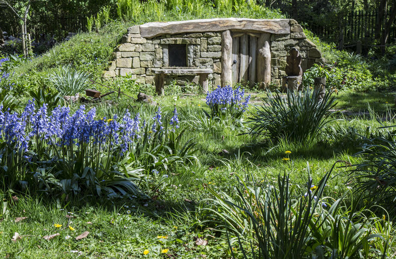 Σπίτι για ένα Hobbit στοκ φωτογραφία με δικαίωμα ελεύθερης χρήσης