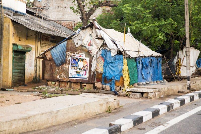 Σπίτι για τους φτωχούς ανθρώπους στοκ εικόνα