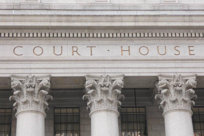 Σπίτι δικαστηρίου στοκ εικόνες