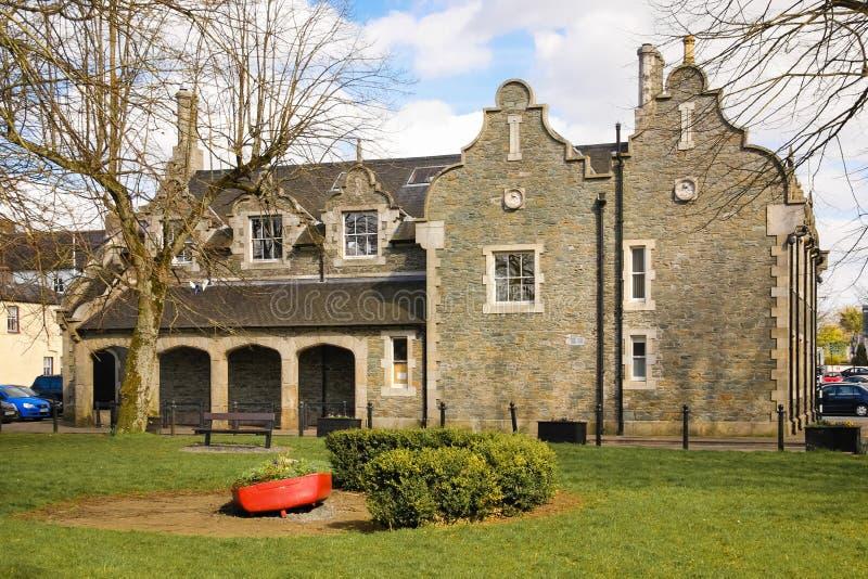 Σπίτι δικαστηρίου Athy Kildare Ιρλανδία στοκ εικόνες με δικαίωμα ελεύθερης χρήσης