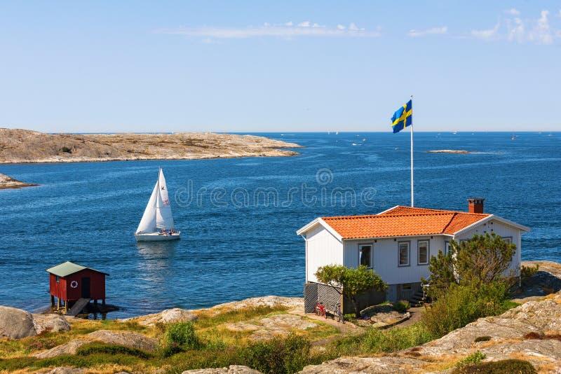 Σπίτι θαλασσίως στοκ εικόνα με δικαίωμα ελεύθερης χρήσης