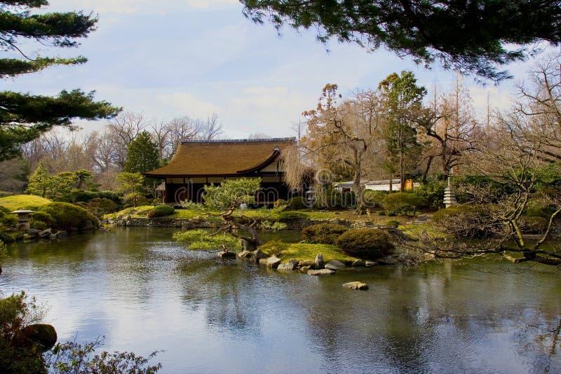 σπίτι ιαπωνικά στοκ εικόνα με δικαίωμα ελεύθερης χρήσης
