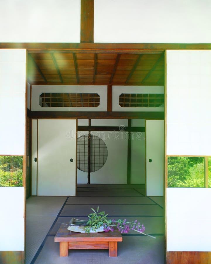 σπίτι ιαπωνικά στοκ εικόνες