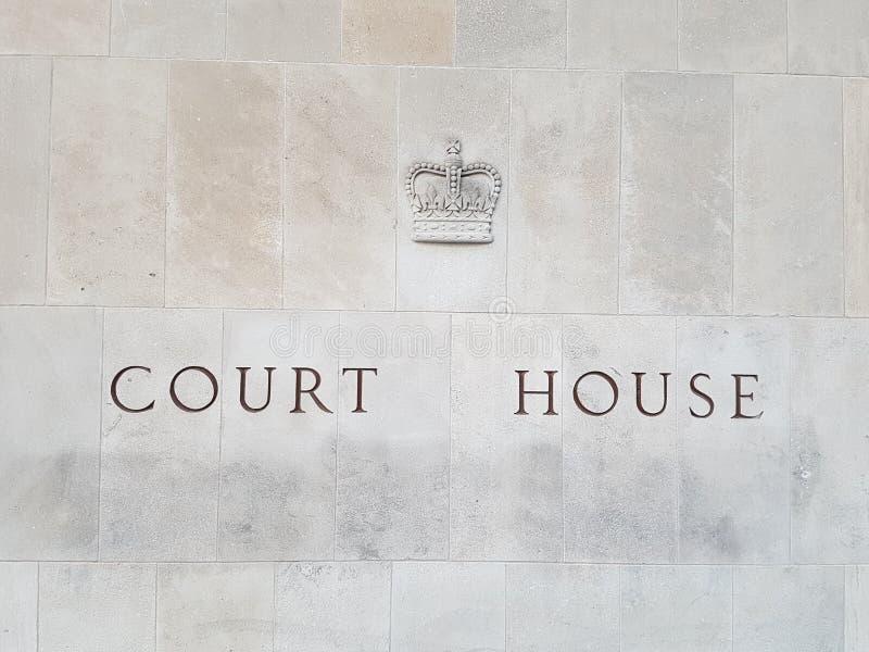 Σπίτι δικαστηρίου στοκ φωτογραφίες με δικαίωμα ελεύθερης χρήσης