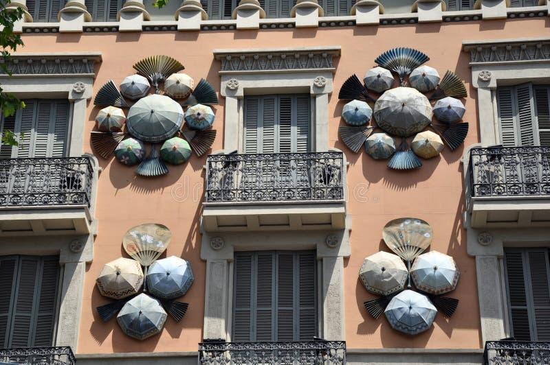 σπίτι Ισπανία της Βαρκελών&et στοκ εικόνες
