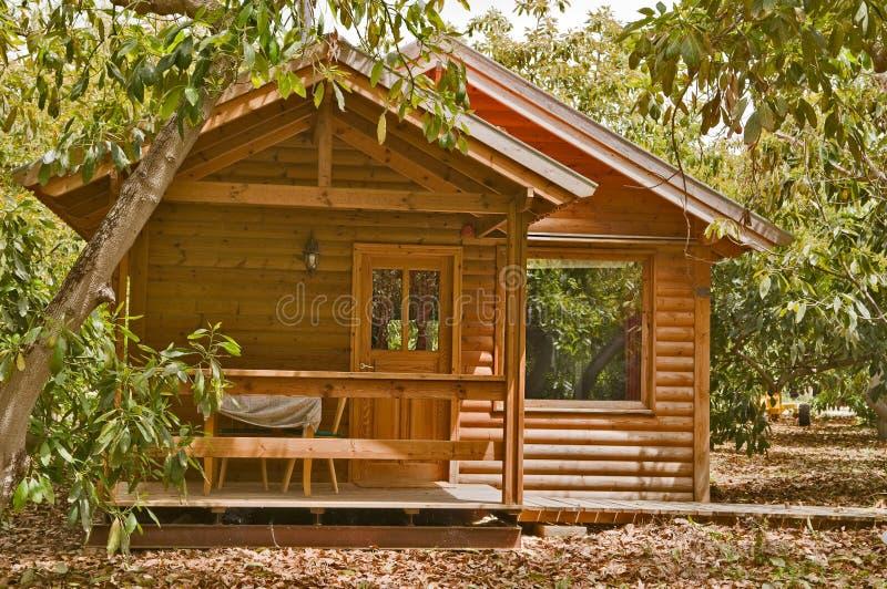 σπίτι κήπων αβοκάντο στοκ εικόνες με δικαίωμα ελεύθερης χρήσης