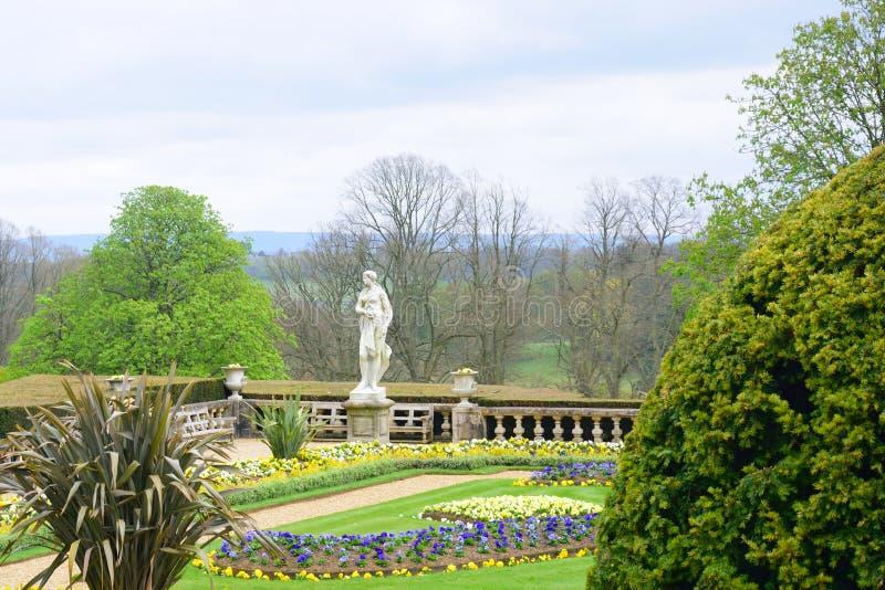 σπίτι κήπων εντυπωσιακό στοκ φωτογραφία