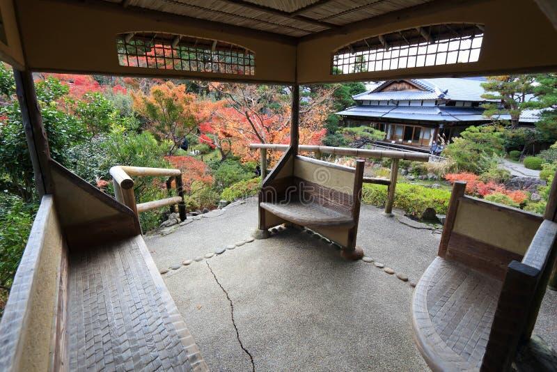 Σπίτι κήπων της Ιαπωνίας στοκ φωτογραφία με δικαίωμα ελεύθερης χρήσης