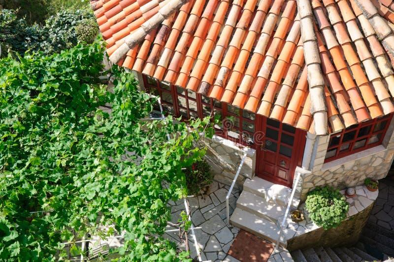 Download σπίτι κήπων στοκ εικόνα. εικόνα από σπίτια, δέντρο, κεραμίδι - 17054319
