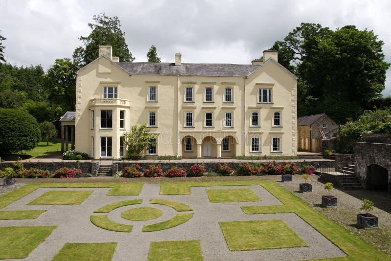 Σπίτι και κήποι Aberglasney στοκ φωτογραφίες με δικαίωμα ελεύθερης χρήσης